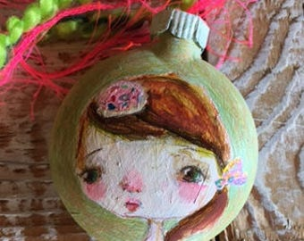 Lil Donut fairy - ornament