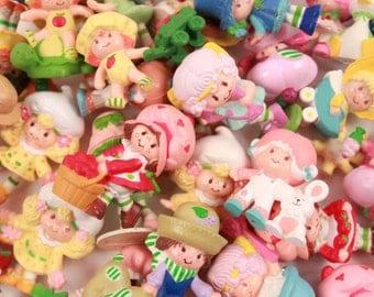 Pick Your Own - Strawberry Shortcake Vintage Kenner Miniature PVC Figure - HUGE SELECTION ~ Pink Room ~ 160910