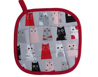 Box Cats Pot Holder