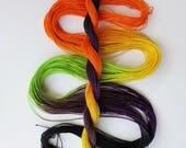 "Size 20 ""Spooky"" hand dyed thread 6 cord cordonnet tatting crochet cotton"