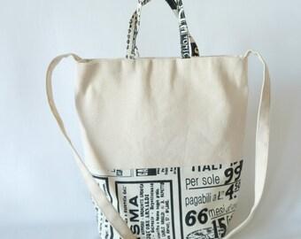Tote Bag - 'Newsprint 2'