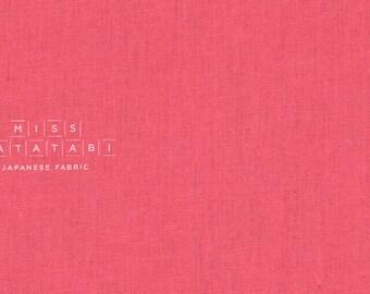 Japanese Fabric Kokka Tayutou solids - pink - fat quarter