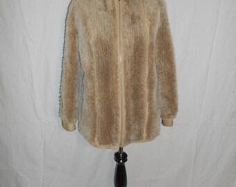 Closing shop SALE 40% off LILLI ANN San Francisco suede leather   faux fur      jacket  Coat