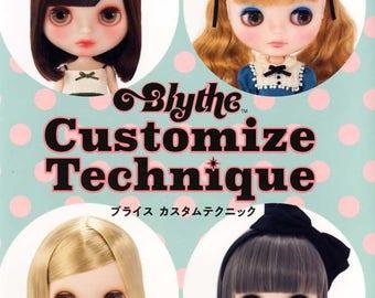 Blythe Customize Technique Book - Japanese Craft Book
