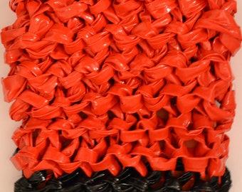 Red Black II Wall Sculpture