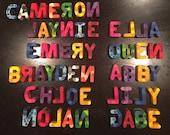 Réservé pour Lauren McNalley 55 lettres crayons lettre Alphabet
