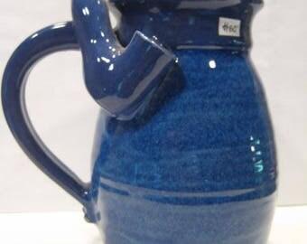 Two Blue's    - Wake and Bake Mug .... * AWESOME * MUG and a  PIPE *  ............ A112