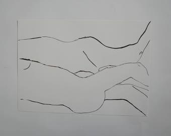 Faye Moorhouse Wonky Drawing Sale   Original Art