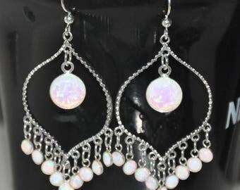 Opal chandelier | Etsy