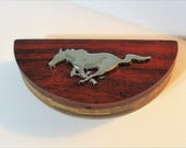 Ford Mustang Automobile Treasure Box With Emblem