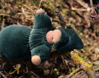 Waldorfdoll - Waldorf Doll - Babies First Doll - Cuddle Baby according to waldorf pedagogy - Waldorf Toy - Snuggle Doll
