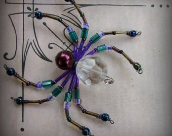 Crystal Spider Ornament Sun catcher