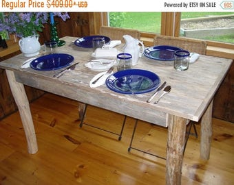 "ON SALE Driftwood Table (50"" x 27"" x 29""H)"