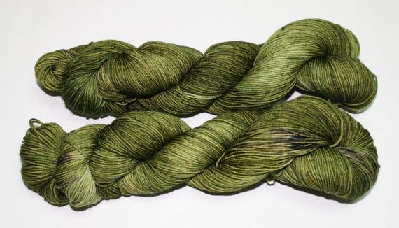 Mossy Grove Hand Dyed Sock Yarn