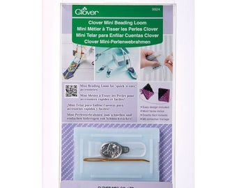 CLEARANCE - Clover Mini Beading Loom for beadwork, bead looming and friendship bracelets