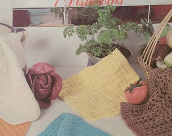 Lily Sugar N Cream Dishcloths Knit Pattern
