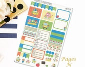 School Owls Mini Weekly Planner Sticker Kit for Plum Paper Family (ME) Planners/ Functional Stickers/ Checklists  #094