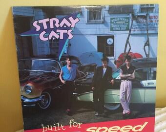 Stray Cats Built for Speed Record Album Vinyl