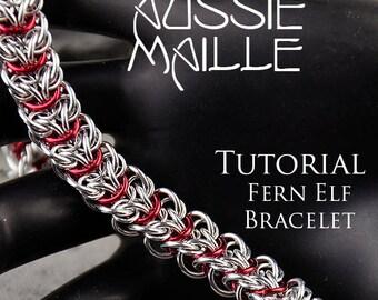 Chain Maille  Tutorial - Fern Elf