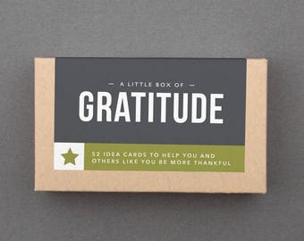 """Thanksgiving Game, Gratitude Prompts. Fun, Funny, Creative, Unique Party, Family, Group Card Game. Thankful For. Adult. """"Gratitude"""" (L5GRA)"""