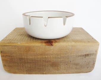 vintage heath ceramics pottery ashtray