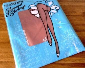 Seamless Glamorous Stockings   1950s-60s