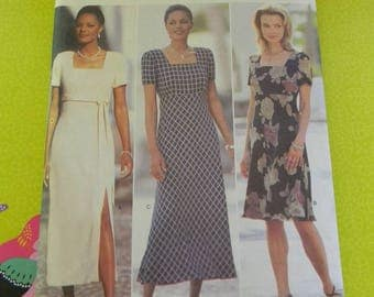 Vintage Butterick Misses Dress Pattern, Uncut Multisized