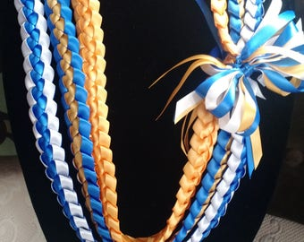 Triple Strand Ribbon Lei