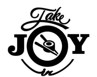 WEEKEND SALE Take Joy In Sushi Decal