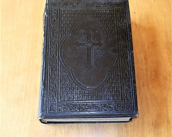 Antique German Bible Antique Vintage Bible Printed In Germany Dr Martin Luthers
