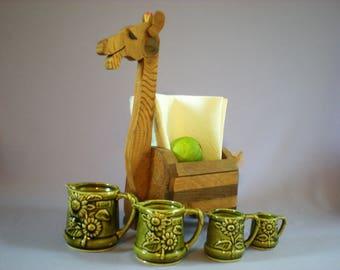 Trinket Box, Wood Catchall, Wooden Serving, Wood Funny, Wood Art, Table Decor, Camel Figurine, Wood Souvenir,  Vintage Home Decor