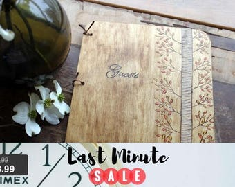 Guest Book Sale! Wedding Guest Book, Wedding Guestbook, Rustic Guest Book, Rustic Guestbook,  wooden guestbook, rustic wedding guestbook,
