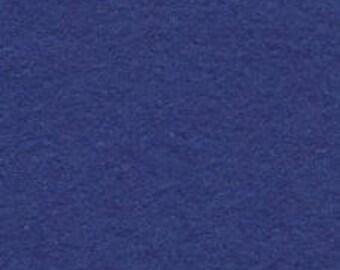 Royal Blue 20/80 Wool Blend Felt 12x18