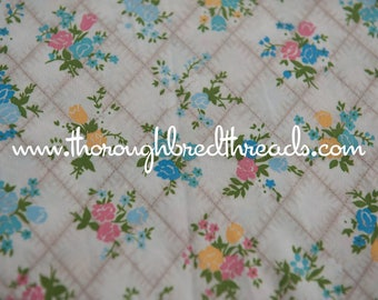 Adorable Floral - New Old Stock  Vintage Fabric 60s 70s