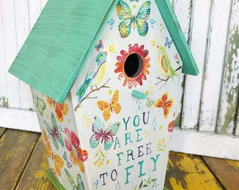 Free to Fly Birdhouse | Discontinued Product! | Katie Daisy