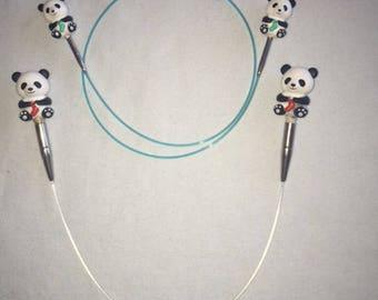 HiyaHiya Interchangeable Panda Cable Stoppers
