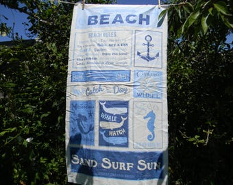 Sand Surf Sun Quilt Panel by Timeless Treasures