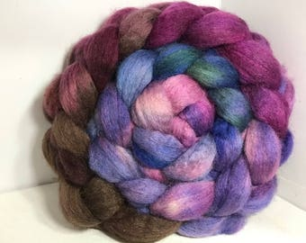 Spinning Fiber BFL/Bombyx 75/25 - 5oz - Party Cake 2