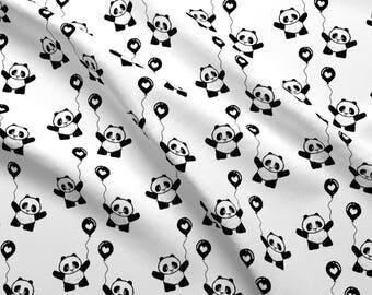 Panda Fabric Etsy