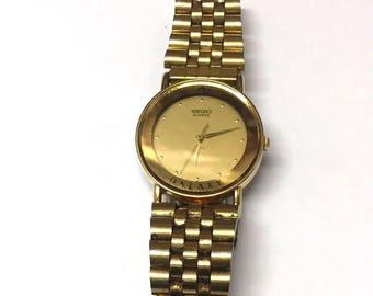 Vintage Mens Seiko Galaxy Wrist Watch Non Working