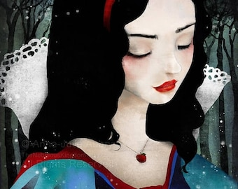 Snow White - Open Edition Print