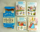 Vintage French Fortune Telling Cards | Grand Jeu De Melle Lenormand Tarot Cards | B.P. Grimaud | French Tarot Cards