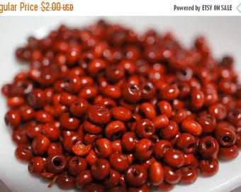 SUMMER CLEARANCE NEW - Small Rich Light Brown Color Wood Beads -3mm - 500 pcs