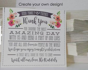 "Personalized ""cd sleeve wedding favor"""