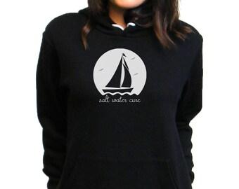 Sailboat Hoodie - Sailing Sweatshirt - Bella Canvas Pullover Hoodie - XS, S, M, L, XL, 2XL