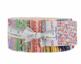 SUMMER SALE - 30s Playtime 2017 - Jelly Roll - Chloe's Closet for Moda Fabric