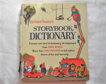 Richard Scarry's Storybook  Dictionary 1962