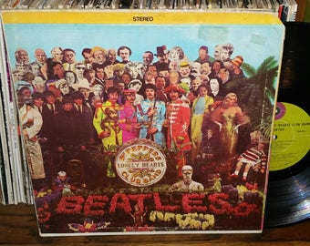 The Beatles Sgt. Peppers Lonely Hearts Club Band Vintage Vinyl Record