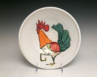 The Island Rooster: Serving Bowl; Functional Fine Art
