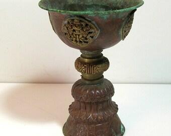 Primitive Copper Chalice